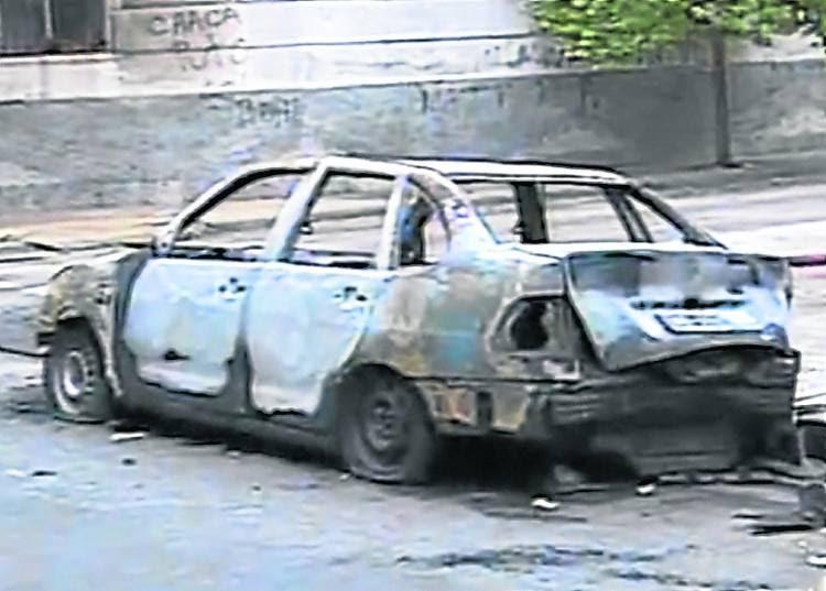 quemacoches incendiaron otros dos autos.