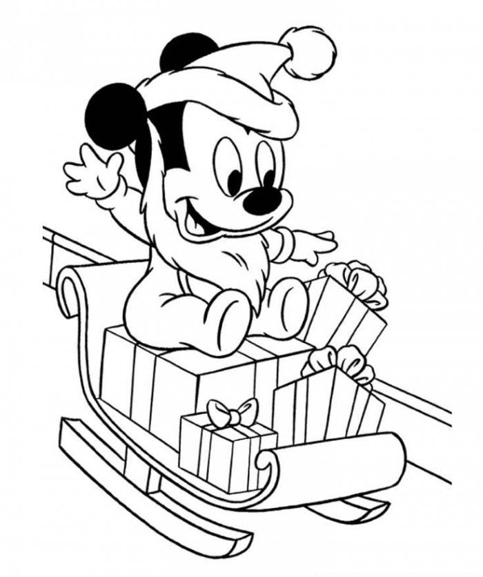 Mickey Coloriage à Imprimer