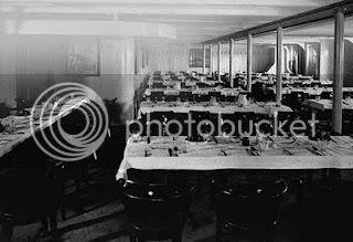 Titanic's Steerage Dining Room