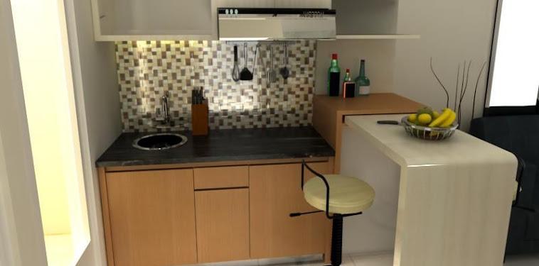 Dekorasi Desain Meja Bar Dapur Minimalis Terbaru
