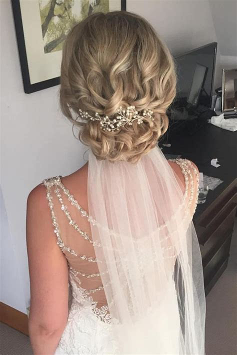36 Wedding Hairstyles With Veil ? My Stylish Zoo