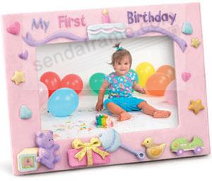 Babys First Birthday Framebrby Russ Berrie Picture Frames