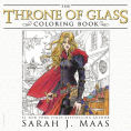 Title: The Throne of Glass Coloring Book, Author: Sarah J. Maas