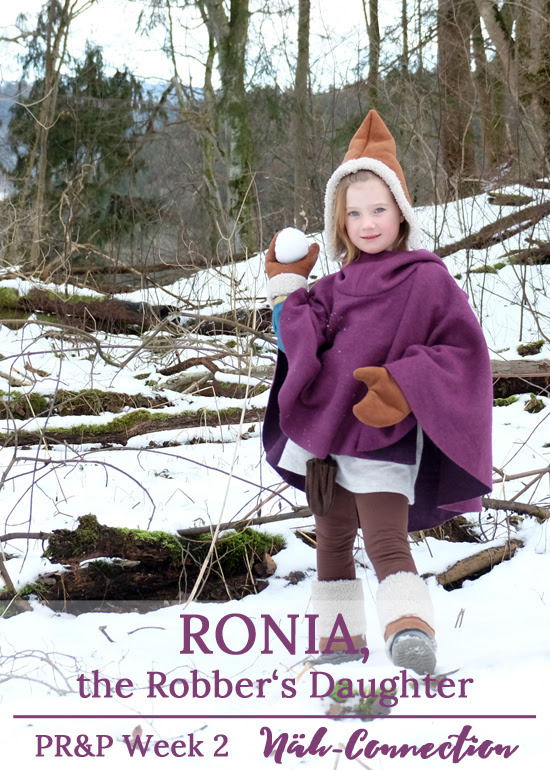 Project Run and Play, Season 11, Week 2: Ronia, the Robber's Daughter inspired outfit sewn by Näh-Connection
