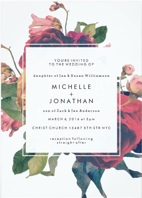 Top Wedding Related Invitation Designs: January through