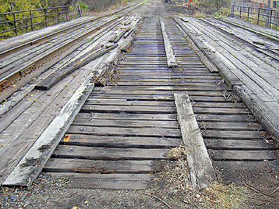 Bridge deck before any work