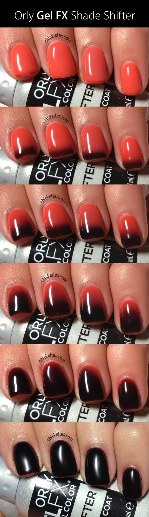 Orly Gel FX Shade Shifter...changes with the warmth of your hands - NO WAY!