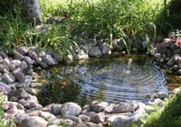 Saratoga Landscaping With Water Features - Add A Waterfall Or ...