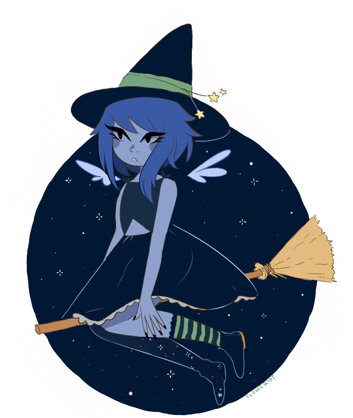 happy october ! heres a transparent witch lapis
