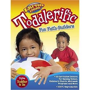 Toddlerific Fun Faith-Builders (Bible Funstuff)