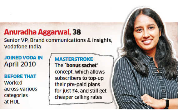 For Vodafone's Anuradha Aggarwal, the challenge is for next big idea after the pug and Zoozoos