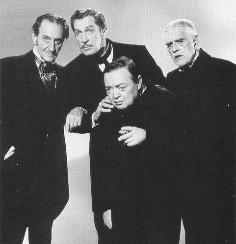 Comedy of Terrors cast