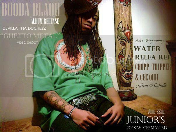 Booda Blaou Album Release Party, At Juniors in Chicago