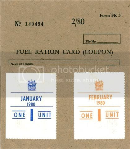 Fuel Ration Card