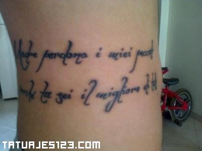 Frase En Italiano Tatuajes 123