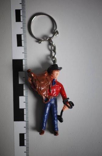 So ein Cowboy baumelte an ihrem Schlüsselbund. Er ist verschwunden. Foto: Gottfried Stoppel