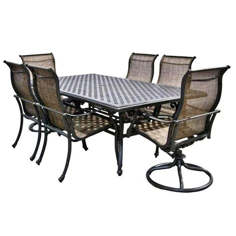 world source  piece castle rock dining set outdoor