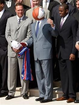 Bush Kansas Basketball