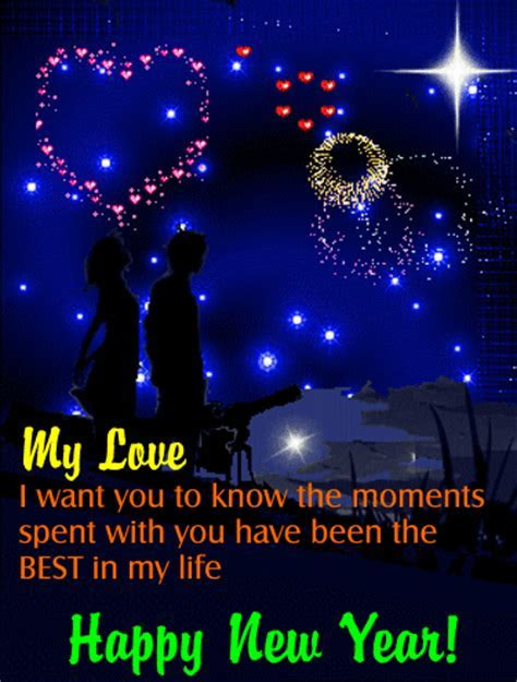 My New Year Love  Free Love eCards, Greeting Cards   123