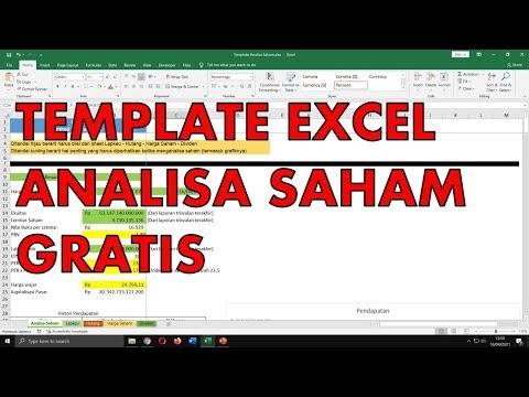 Template Analisa Saham di Excel