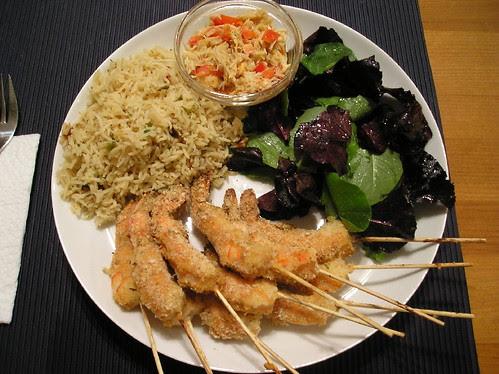 Crevettes délicieuses