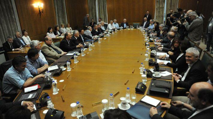 Φωτό από τη συνεδρίαση του Υπουργικού Συμβουλίου στις 10 Μάη 2016