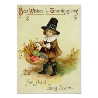 Vintage Thanksgiving Poster