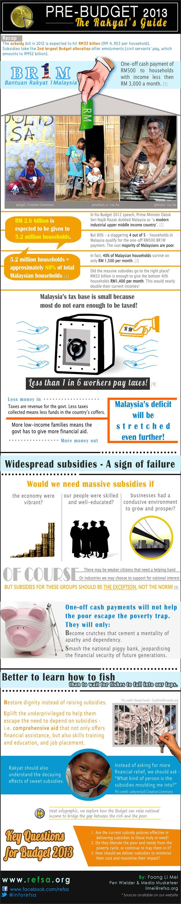 Pre-Budget 2013 Guide Part 5 - infographic