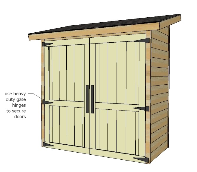 6 x 10 shed plans plywood sawhorses do best plan for Best shed plans