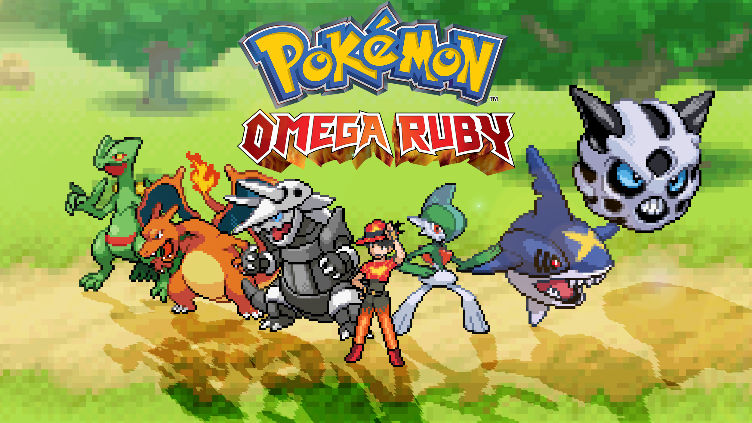 Pokemon Omega Ruby team by scott910 on DeviantArt