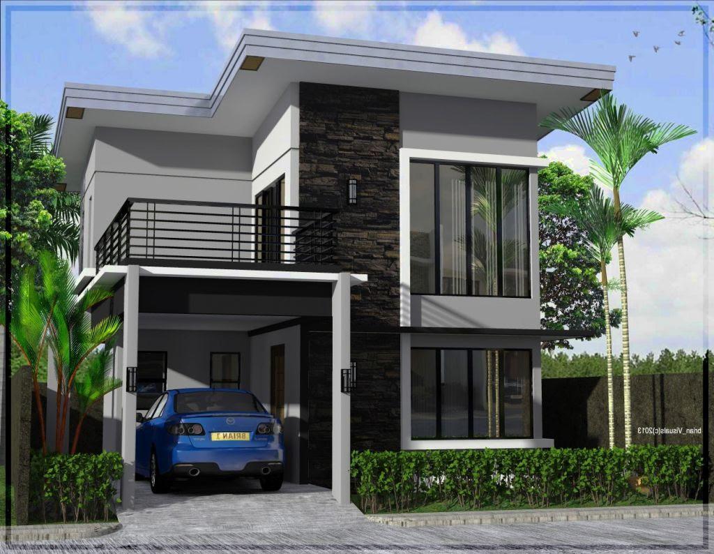 Pagar Rumah  Minimalis 2  Lantai  Type 36 Desain  Rumah