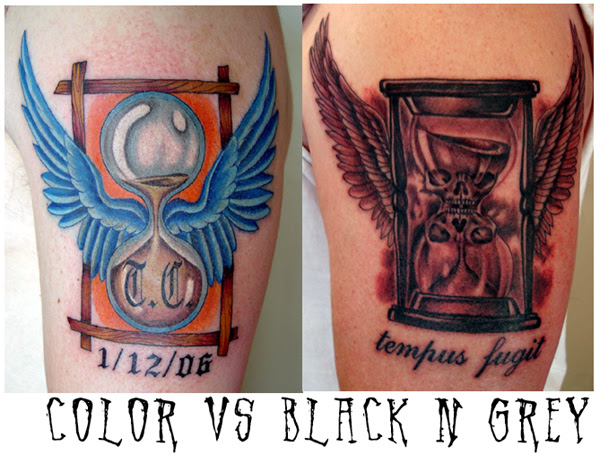 Looking For Unique Color Tattoos Tattoos Color Vs Black And Grey