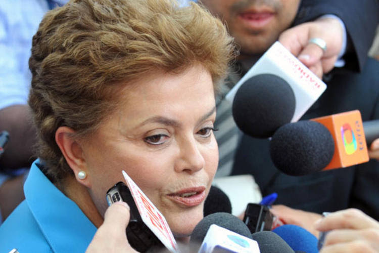 Presidente Dilma Rousseff é alidada da prefeita de Natal e adversária da goverandora eleita