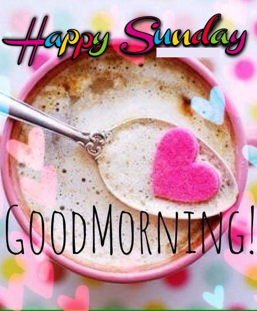 Colorful Sunday Good Morning Coffee Quote Pictures Photos And