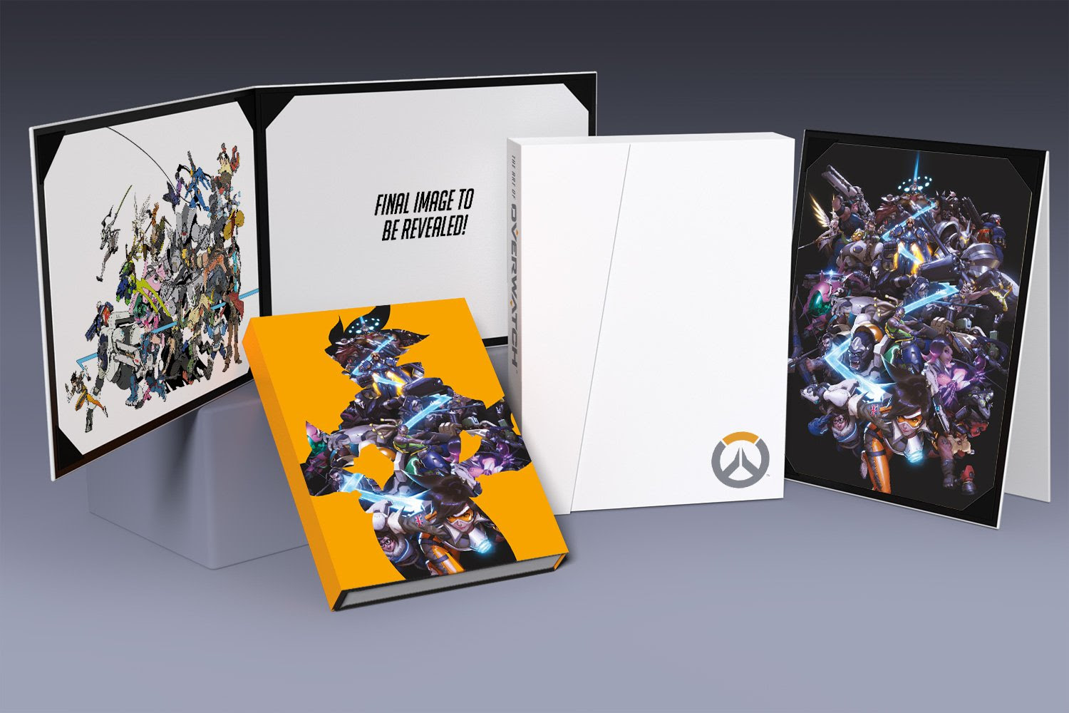 Overwatch art book and comic collection pop up online screenshot