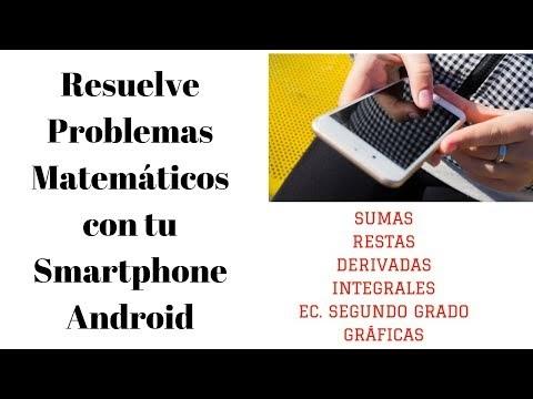 Aplicación Android para resolver problemas de matemática 2018
