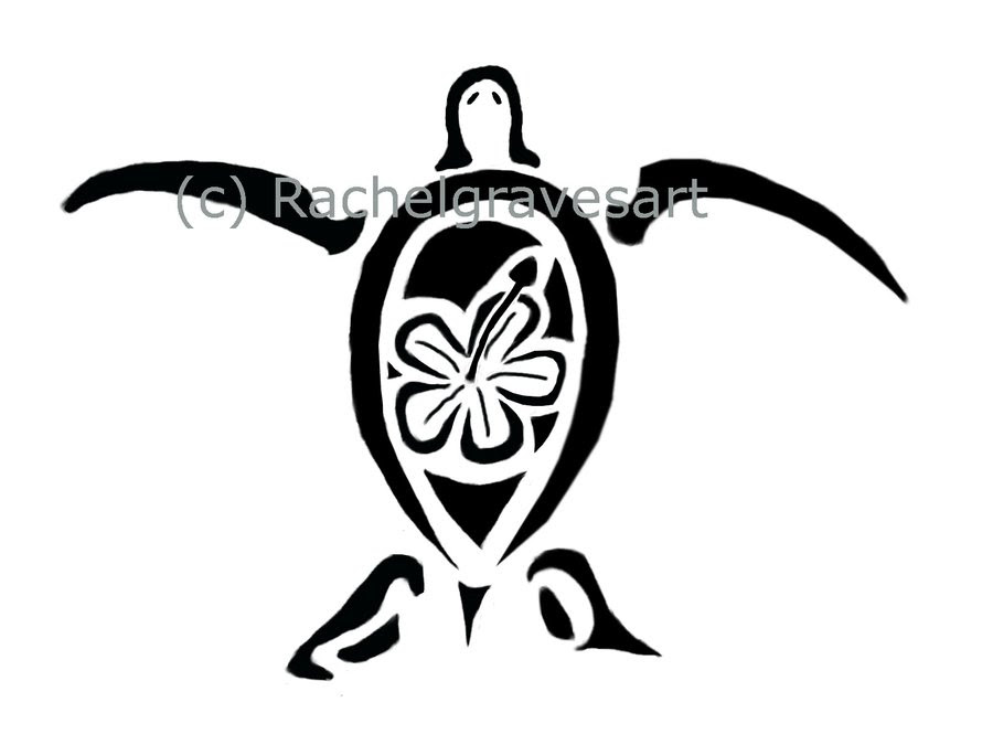 Hawaiian Sea Turtle Drawing At Getdrawingscom Free For Personal