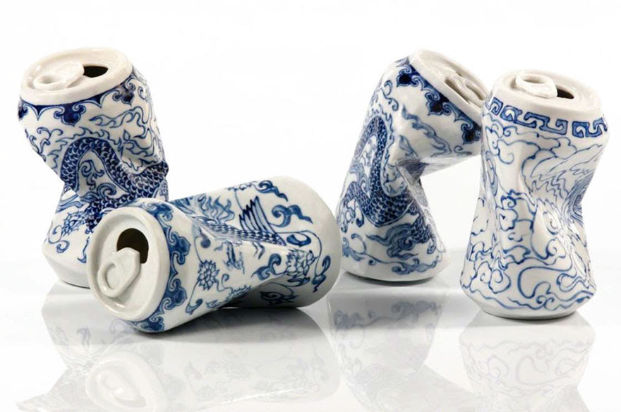 smashed-cans-sculptures-drinking-tea-lei-xue-3