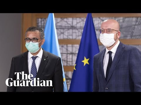 WHO chief and president of European Council give briefing on pandemic treaty