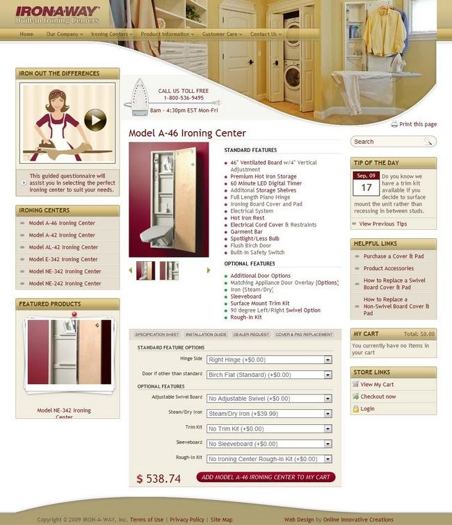 Retail Web Design Peoria Il Ironawaycom