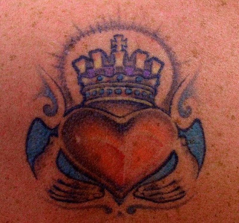 Heart With Crown Tattoo Design Tattoos Book 65000 Tattoos Designs