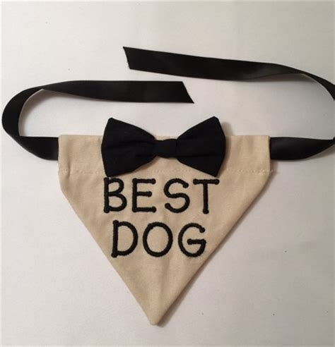 Best Man Wedding Bandana   Apparel   Dresses Posh Puppy