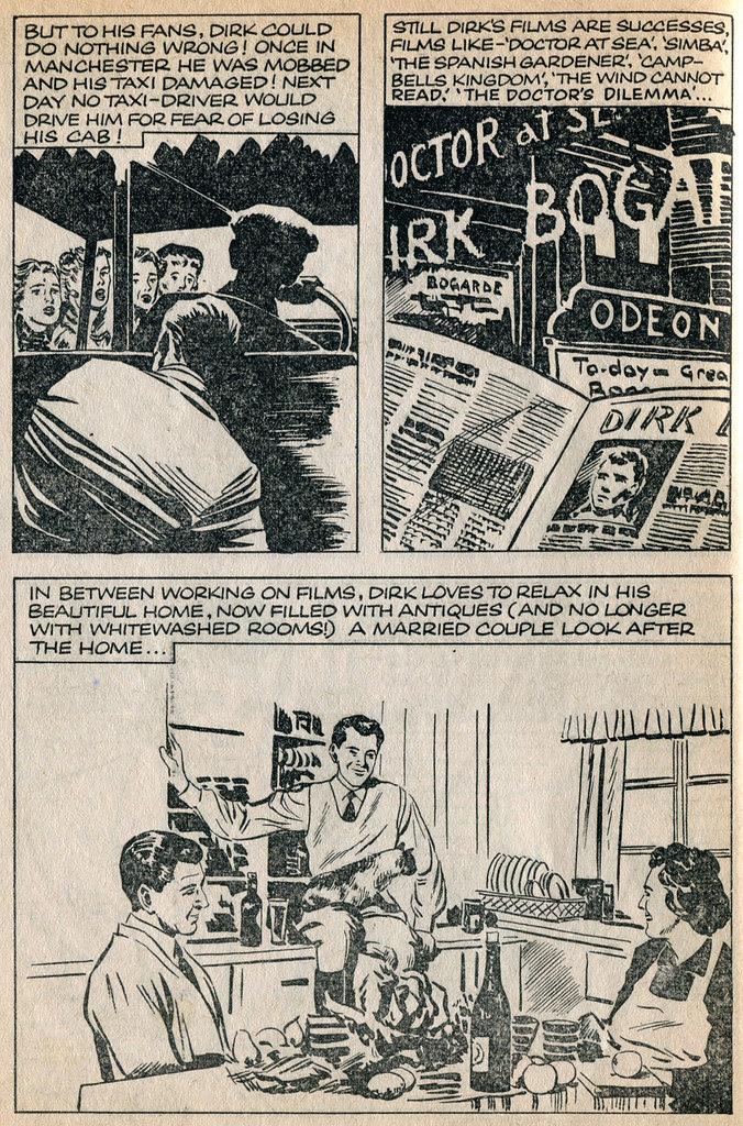 Dirk Bogarde comic 21