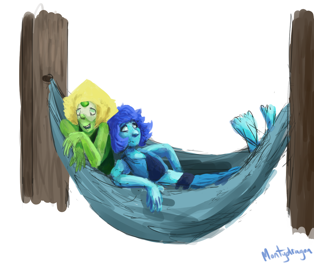 @mariachi-screamo-opera I'M SO SORRY THIS TOOK SO LONG!! I was experimenting around with colors and things and I got sidetracked a lot… Well, at least now it's done. Here you are! Some hammock...