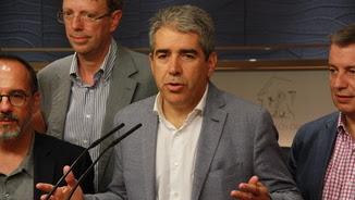 Homs en una roda de premsa al Congrés (ACN)