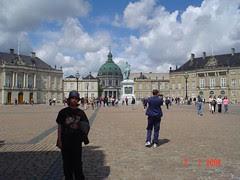 Amalienborg Slot, Copenhagen, Denmark
