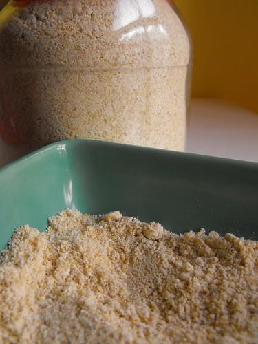 Farinha de grão assada