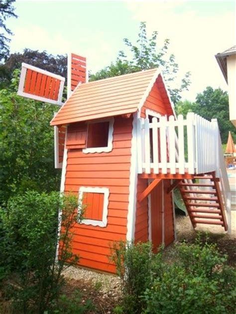 kinderspielhaus spielturm als windmuehle