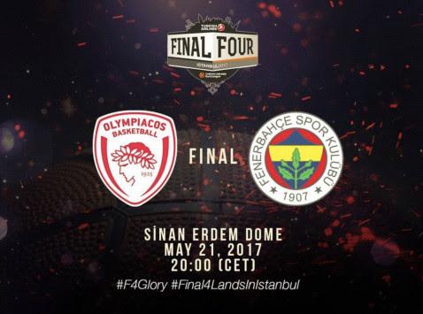 Φερνέρμπαχτσε – Ολυμπιακός LIVE ο τελικός της Euroleague – Ερντογάν... γιοκ! Δεν θα πάει στο γήπεδο