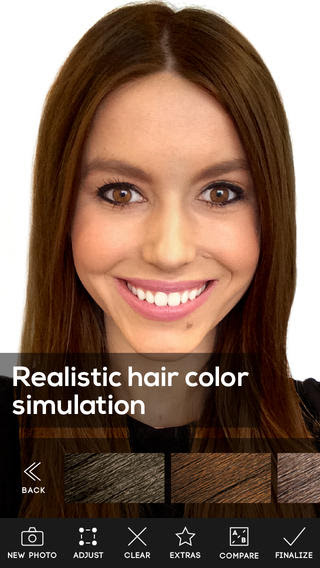 Hair Color app review  appPicker
